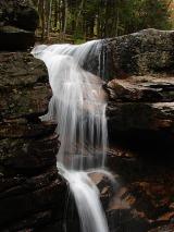 Waterfalls in Flume Gorge