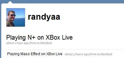 XBox 360 Twitter Updates