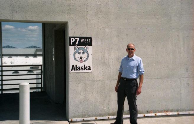 Dad in Alaska