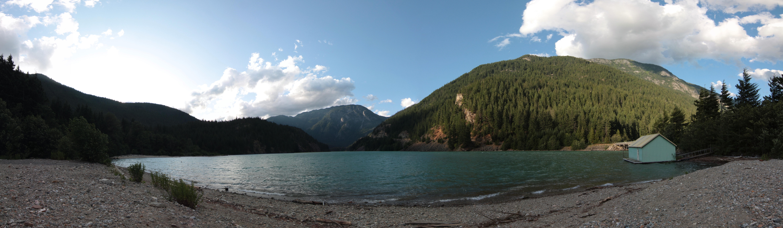 Devil Lake Panorama