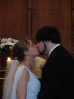 Mr and Mrs Pike's first Kiss
