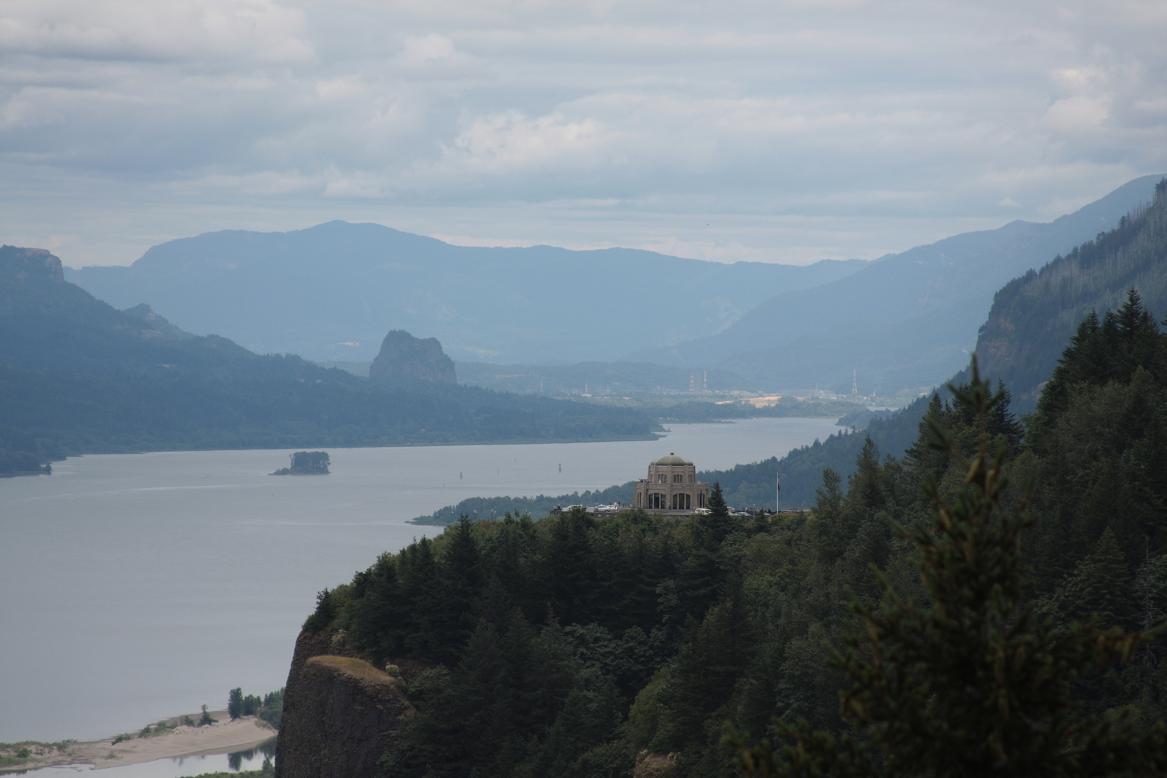 vista house view