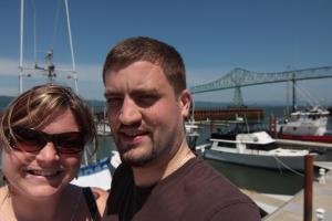 Randy and Rachel in Astoria