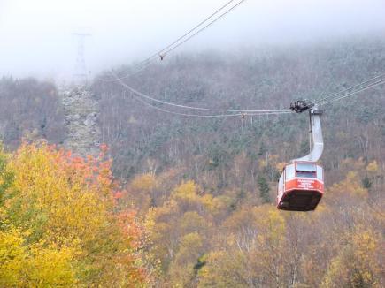 Gondola Up Cannon Mountain