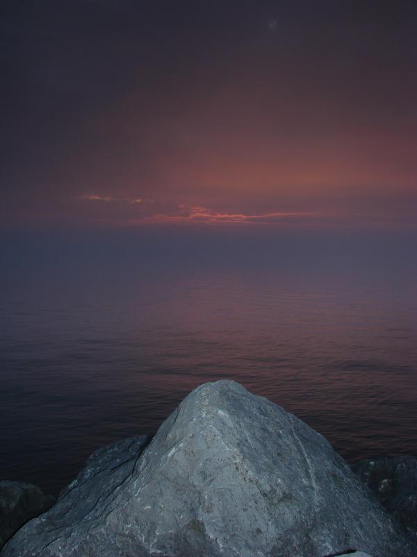 Sunset at Irondiquit Bay