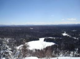 View From Little Blue Mountain
